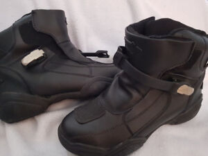 Men's Motorcycle Boots, size 10