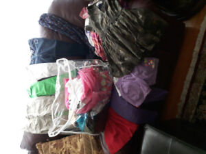 Toddler Girls size 3 - 4 Large bag of Clothing