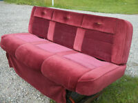 BENCH SEAT from a 1985 Ford E150 van 'Excellent condition' !