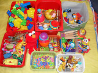 Daycare toys and educational material package