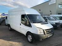2011 FORD TRANSIT 350 LWB HIGH ROOF CHEAP BARGAIN VAN NO VAT WELL MAINTAINED !!!