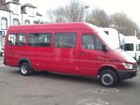 Mercedes-Benz SPRINTER 411 CDI 17 SEAT WHEELCHAIR ACCESSIBLE BUS ANALOGUE TACHO