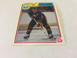 1983/84 O-PEE-CHEE NHL HOCKEY CARD #67 GILBERT PERREAULT NM