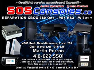 Réparation Nintendo 3 ds XL, 3 DS, DS lite tous les modèles
