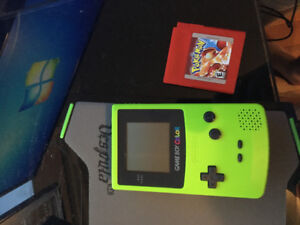 Game boy color avec pokemon