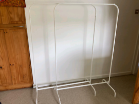 Clothes rails x 2