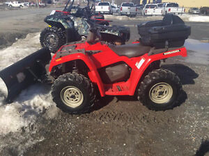 ON HOLD!!!2003 Bombardier Outlander 400 XT 4x4 with Plow