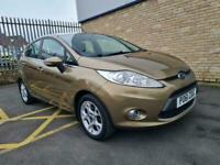 2012 Ford Fiesta 1.25 Zetec superb example only 47480 miles