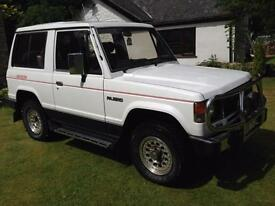 1987 MITSUBISHI SHOGUN MK1 SWB 2.5TD POWER WAGON 64,000MILES FROM NEW PAJERO