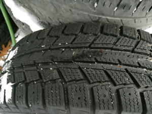 4 winter tires and rims
