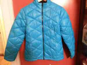 NWT Justice puffer jacket fleece lined size 16