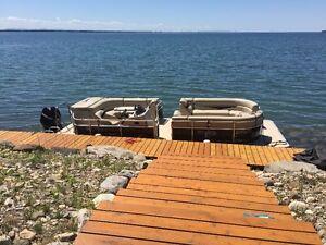 Maison a vendre. vrai bord de l'eau. 45 min de Mtl.  $309000