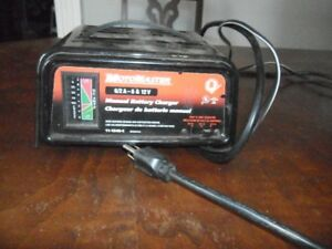 GENTLY USED VERY GOOD CONDITION BATTERY CHARGER.