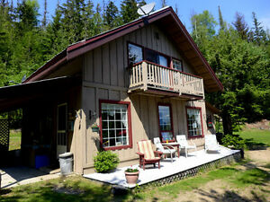 Large Lakefront Acreage with Cabins on Quesnel Lake $299,000