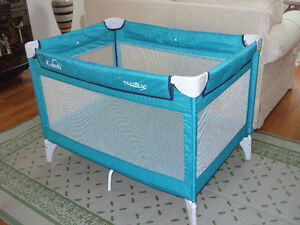 """""""Comfi"""" travel cot and playpen."""