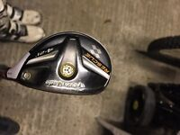 Taylormade rescue with accra shaft - 21 degree