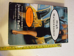 HIGH MAINTENANCE BY JENNIFER BELLE PAPERBACK VERY GOOD CONDITION
