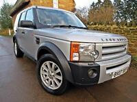 2007 LAND ROVER DISCOVERY 3 2.7 TDV6 AUTO. GREAT SPEC !! 12 MONTHS MOT !!
