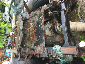 38 Mack axle on camel back non brass bushing