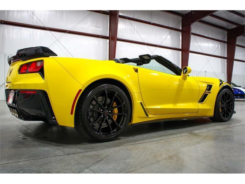 2019 Yellow Chevrolet Corvette Convertible 3LT | C7 Corvette Photo 5