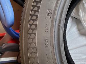 Four 235/60-18 Michelin All Season Tires