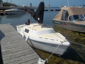 DS 16 SAILBOAT AND TRAILER FOR SALE