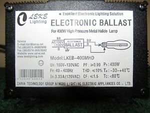 GROW BULB & ELECTRONIC BALLAST Peterborough Peterborough Area image 2
