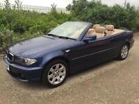 2003 BMW 318CI, CONVERTIBLE HISTORY LEATHER MOT FINANCE AVAILABLE