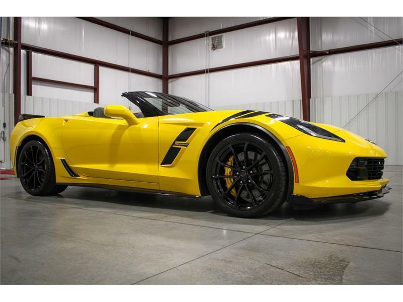 2019 Yellow Chevrolet Corvette Convertible 3LT | C7 Corvette Photo 7