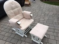 Mothercare feeding chair with stool