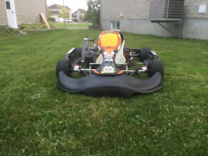 2012 Crg gokart with or without Rotax 125cc