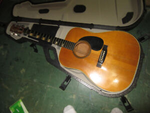 Goya Acoustic Guitar with Case