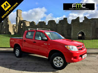 2008 Toyota Hi-Lux 2.5D-4D 4WD Double Cab HL2 Red 4x4