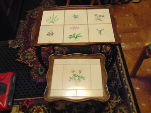 Antique French Nesting Tables