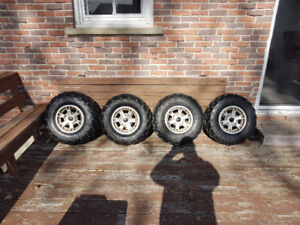 Can-Am tires and rims
