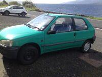 Peugeot. 106. brand new MOT. Low mileage