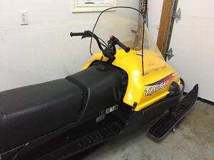 SOLD!  1997 Skidoo Tundra II long track, excellent shape!