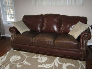 Sofas Brun Cuir - Brown Leather Couchs