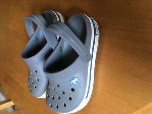 Boys Crocs size 2
