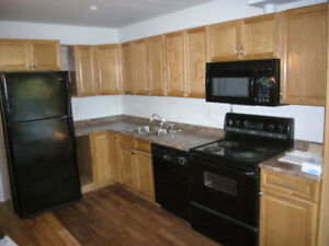 Adult patio 4plex, Duncan VIU, 2bd+office and 3bd, available now