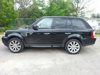 2009 Land Rover Range Rover Sport SC SuperCharged 4x4 Sunroof