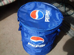 Pepsi Cola Very Large Insulated Wheeled Folding Cooler *NEW*