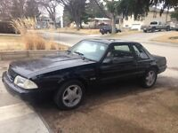 89 Mustang LX 5.0 Coupe 5spd