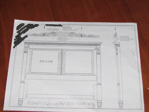 Looking For This Type Of Headboard Queen Size Kitchener / Waterloo Kitchener Area image 3