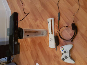 XBOX 360 w/ games and accessories