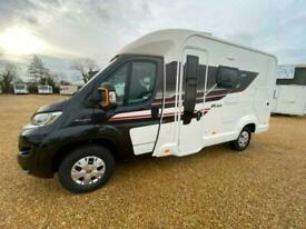 2018 SWIFT RIO 325 FIAT 2.3 130 BHP REAR DOUBLE BED OVER A GARAGE WITH 3,924 MI
