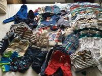 Baby boys 3-6 month clothes - big bundle of 100 items