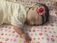 Reborn baby collectable doll