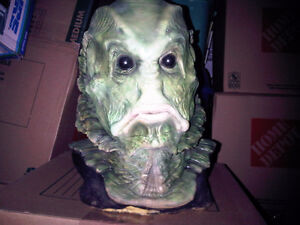 large collection  masks & display busts haunted house halloween Peterborough Peterborough Area image 1