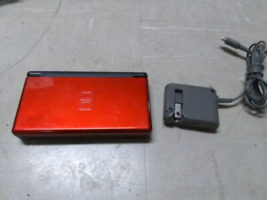 Nintendo DS Lite with New Super Mario Brothers Game and Charger